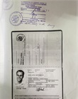 Passport and/or Vietnamese ID card of the Company's legal representative